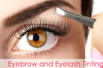 Eyebrow and Eyelash Tinting